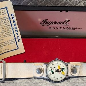 1960's Minnie Mouse Watch